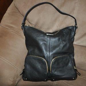 Kate Spade Pebble Leather Large Black Handbag